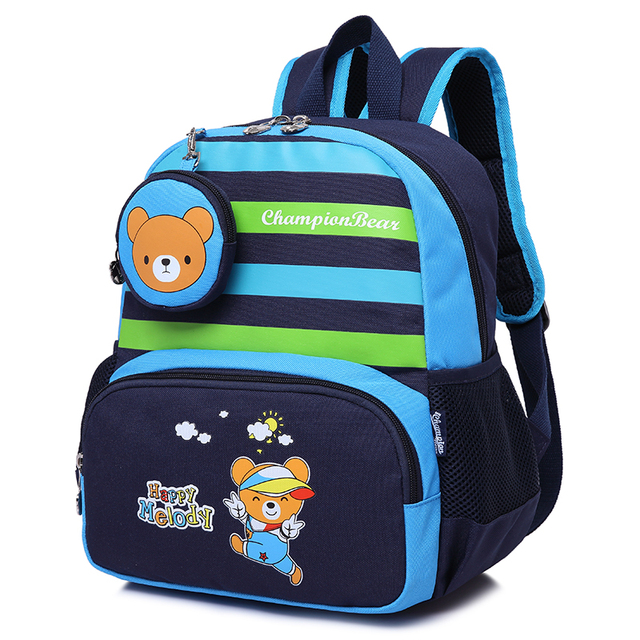 5ab9b942f9 Quality Kindergarten Children Backpack Kids Bag Baby School Bags for Girls  and Boys Small School Backpack