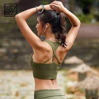 Frauen Push-Up-Bh Yoga Nahtlose Sport-Bh Workout Sport Bh Crop Top Fitness Active Wear für Gym Büstenhalter Frauen der Sportswear
