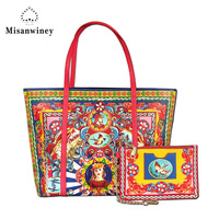 Excellent Quality Neverful Bag Women Luxury Brand Shoulder Bag Classic Shopping Bags Real Leather Canvas Monogram Handbags MM/GM