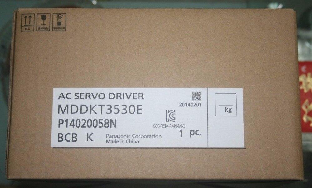 все цены на MDDKT3530E AC200V A5II Series AC Servo Motor driver update replace MDDHT3530E онлайн