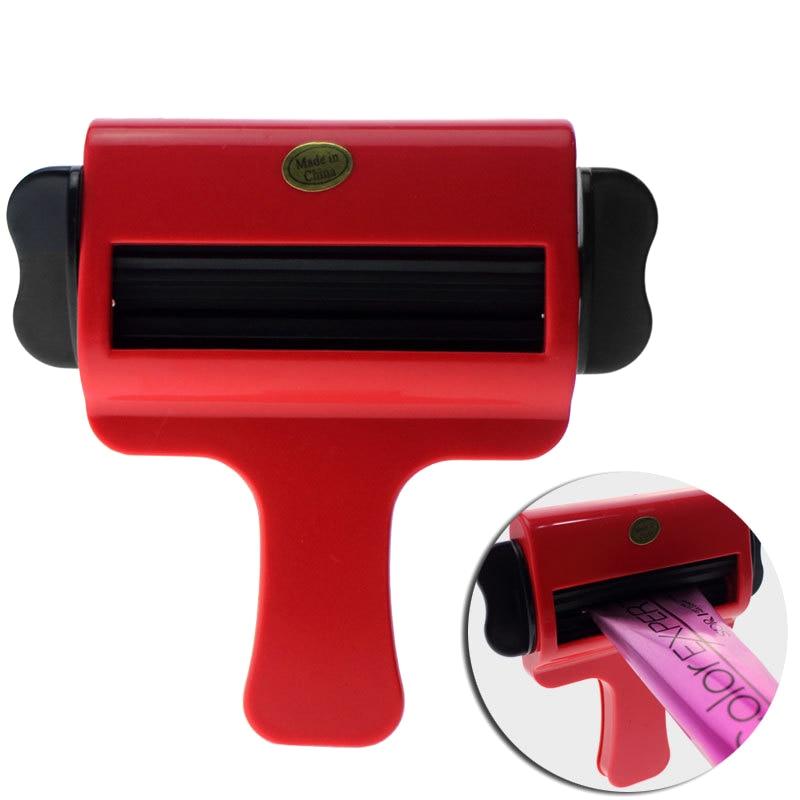 Nyaste Design Plast Cream Squeezer Hair Salon Färg Squeezer För Färgning Cream Hushållspasta Squeezer Tubverktyg