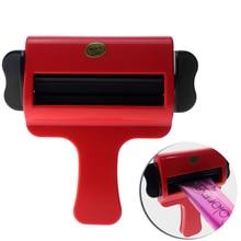 Newest Design Plastic Cream Squeezer Hair Salon Color Squeezer For Dyeing Cream Household Toothpaste Squeezer Tube Tools