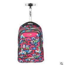 kids School bag on wheels school rolling backpack Children wheeled backpack student Travel Rolling Luggage backpack Trolley bags