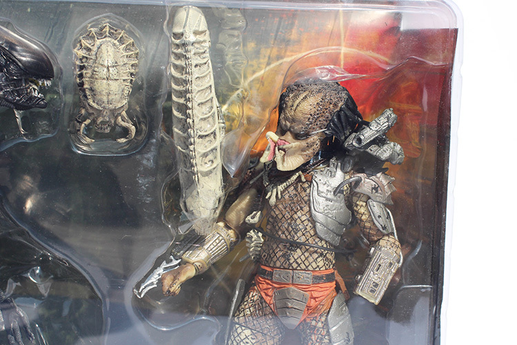 Figuras NECA  Alien VS Predator Tru Complete Edition Movie   20cm