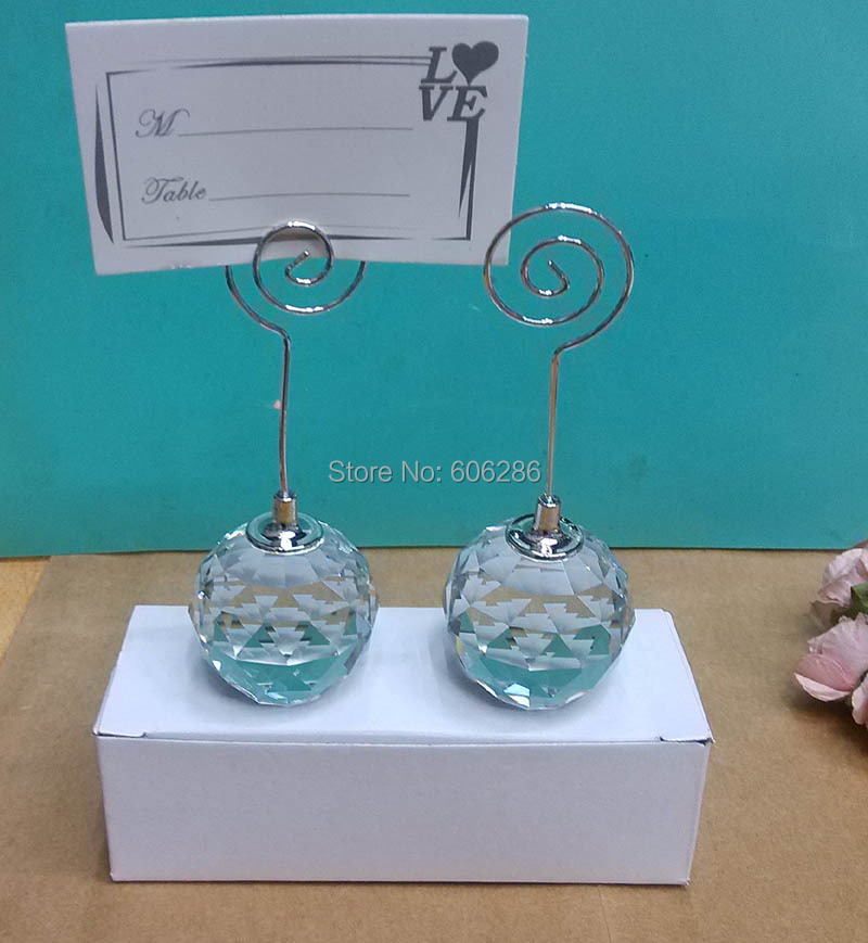 Buy crystal ball place card holder and get free shipping on ...
