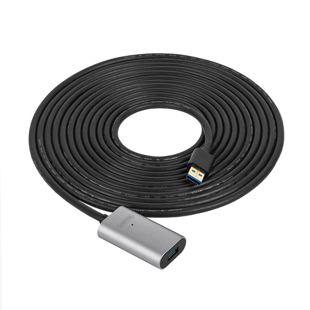 Free Shipping USB3.0 10M Active Extension Up to 5Gbps Cable Unitek Y-3018 Promotion Price unitek y c428 usb male to female am af shielded extension cable black 100cm