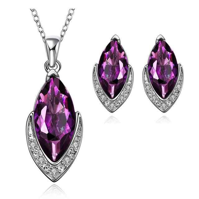 Wholesale Wedding Jewelry Sets Bijoux watching your eye N+E Jewellery Set Christmas Gifts FBLS018