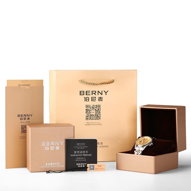 Berny Meeste Kell Quartz Meeste Kellad Fashion Top Luksus Brand - Meeste käekellad - Foto 6