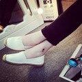 2016 Новое Прибытие Марка Дизайн Женщины Loafer Обувь Из Натуральной Кожи скольжения На Женщин Квартиры Весна Лето Повседневная Обувь Женщина Размер 35-39