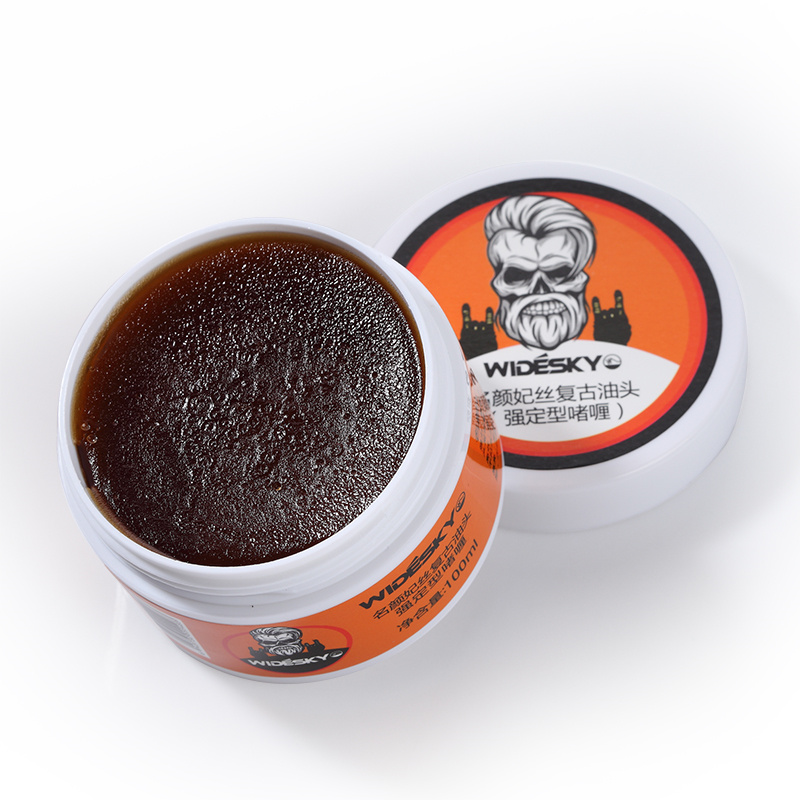 Classic retro pomade male strong style cream slicked oil mud hair wax long lasting moisturizing shaping #822 suavecito hair pomade strong style restoring pomade hair wax skeleton cream slicked oil mud keep hair men oil no original