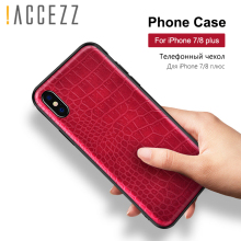 !ACCEZZ TPU Phone Case For iphone XS MAX XR X 6 6S 7 8 Plus 10 Retro Vintage Crocodile Snake Skin Pattern Protective Cover Shell