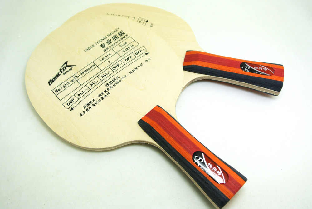SALE  REACTOR  5 Wood  Professional   table tennis paddle/   table tennis blade  PINGPONG paddle