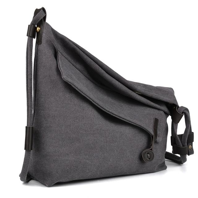 7f3fb5d74c5e Coofit Design Unisex Tote Bags Retro Canvas Big Capacity Schoolbag Travel Bag  Messenger Crossbody Bag For Women Men Casual Obag