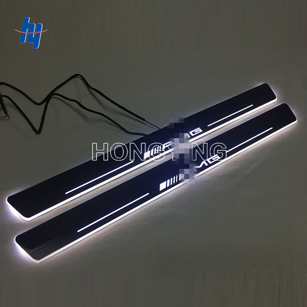 2pcs LED moving door scuff Nerf Bars& Running Boards door sill light welcome lamp for M ercedes B enz E class W212 2009-15 free ship rear door of high quality acrylic moving led welcome scuff plate pedal door sill for 2013 2014 2015 audi a4 b9 s4 rs4
