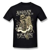 Men T Shirt 3D Men Skeleton Angel Or Death T Shirt Workout Novelty Men Shirt Tshirts