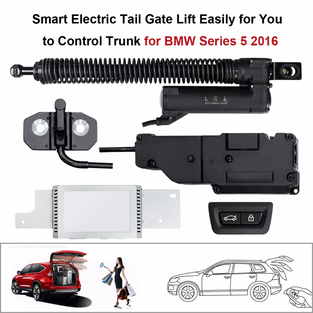 Auto  Electric Tail Gate Lift For BMW 5 Series 2016 Control By Remote