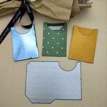 Штампы для конвертов, металлические штампы для вырезания, сшитые DIY штампы для скрапбукинга, трафарет для вырезания, шаблон
