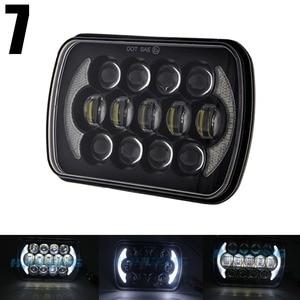 Image 2 - 5X7 inch 85W h4 LED HEADLIGHT BULB 7x6inch headlamp DRL for Jeep Wrangler YJ XJ truck FLD Firebird Celica 240SX 7inch led lamp