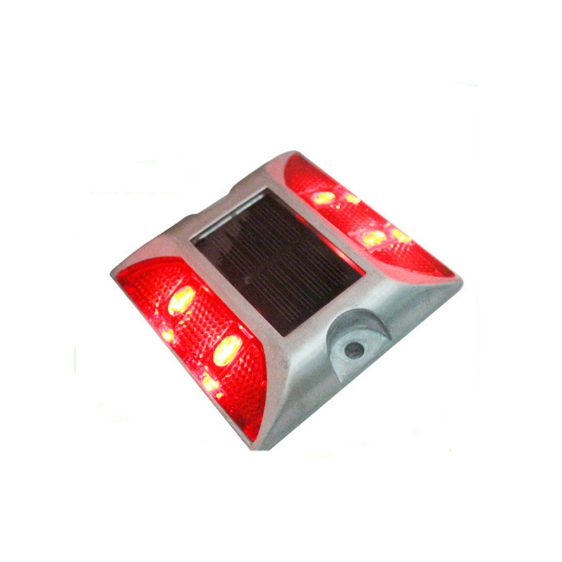 Flashing Mode One Side Aluminum Shell Semi Circle Solar Power Road Stud Garden Deoration Light Roadway Safety Back To Search Resultssecurity & Protection