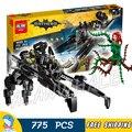 775 unids nuevo super heroes batman película 07056 la transcursor diy modelo kit de construcción de bloques de regalos juguetes compatibles con lego
