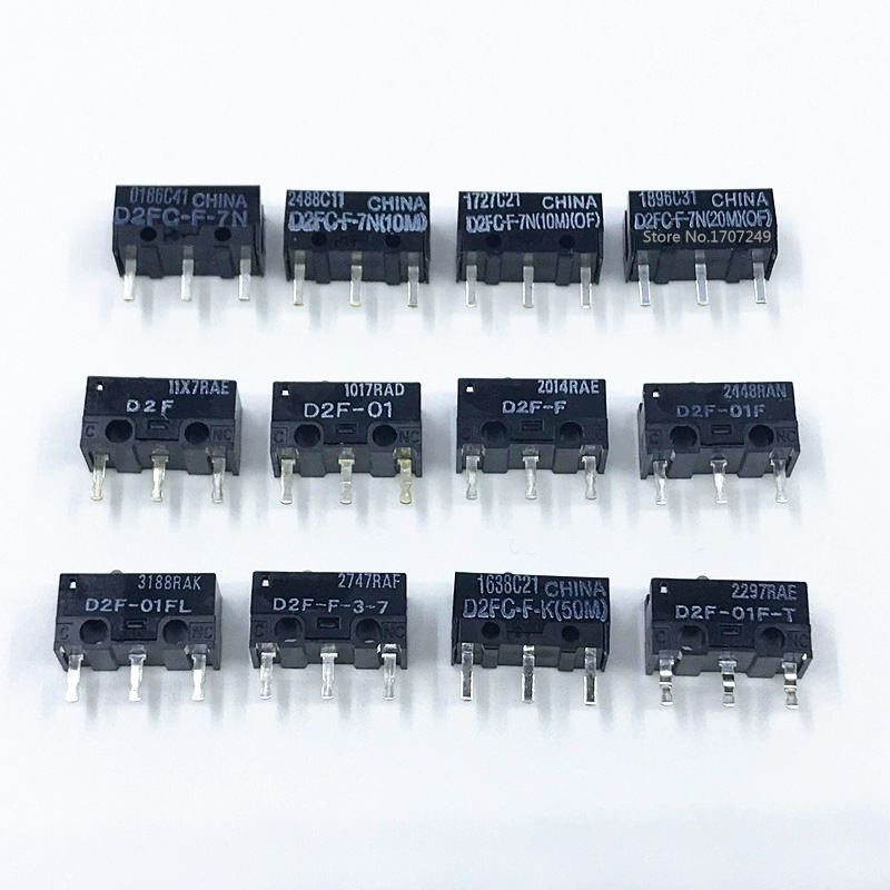 1Pcs Original OMRON Mouse Micro Switch D2FC-F-7N 10m 20m OF D2FC-F-K(50M) D2F D2F-F D2F-01 D2F-01L D2F-01FL D2F-01F-T D2F-F-3-7
