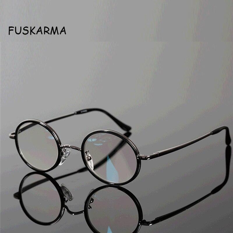 Nouveau Lunettes de Lecture Hommes Femmes Rétro Ronde En Métal Lunettes lunettes Presbytes Lunettes Dioptrique 2.5 1.5 Vintage Lunettes Oculos