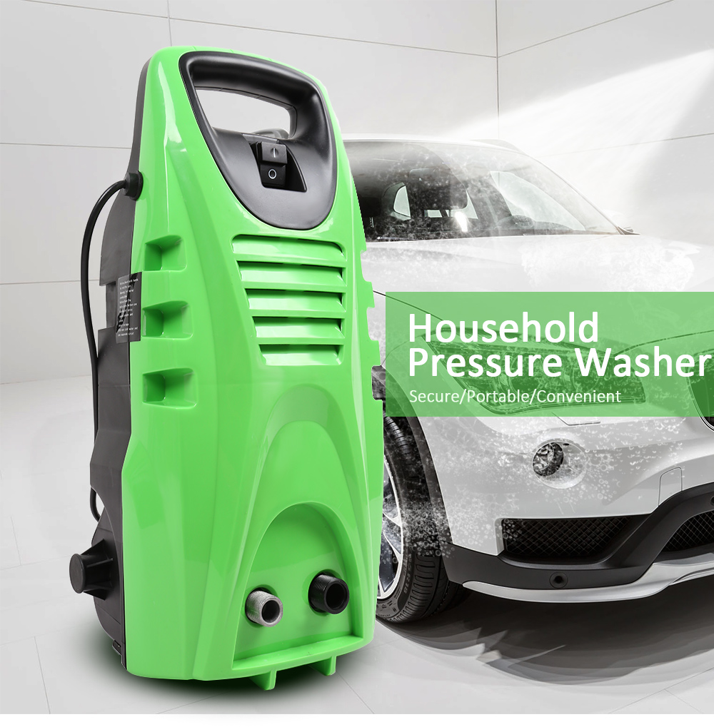 Portable 1800W Car Washer 240V 140bar Electric High Pressure Garden Cleaning Tools Machine 1.5GAL/min Spray Gun Nozzle Cleaner metal hose nozzle high pressure water spray gun sprayer garden auto car washing
