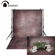 Allenjoy Thin Vinyl cloth photography Backdrop gray Background For Studio Photo Pure Color photocall Wedding backdrop MH-020