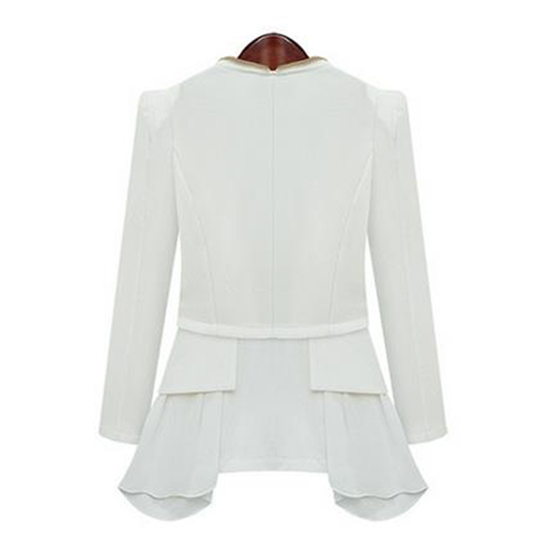 Ladies Blazers and Coats Office Wear Work Long Sleeve Black White ...