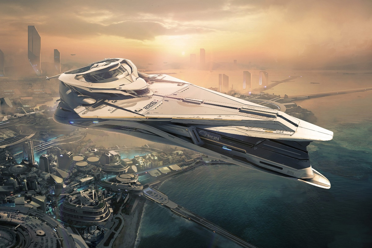 Sci fi spaceship space action fighting futuristic fantasy for Sci fi decor