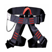 Climbing Harness Safe Seat Belts Mountaineering Rock Climbing Rappelling Body Guide Harness