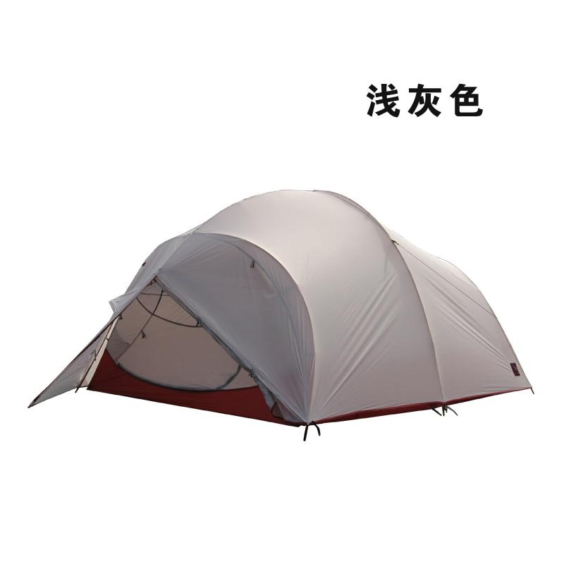 Уличная палатка hilman 4, из более чем двойного алюминия, Feiyunjiang, ультра светильник, с покрытием, из силикона, UL, водонепроницаемая палатка для кемпинга|waterproof camping tents|camping tentoutdoor tent | АлиЭкспресс