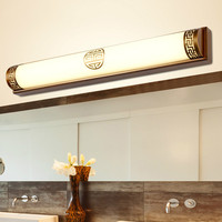New Chinese retro LED wall lamp home hotel classical metal acrylic bedroom bathroom mirror headlight wall sconces mx6191125