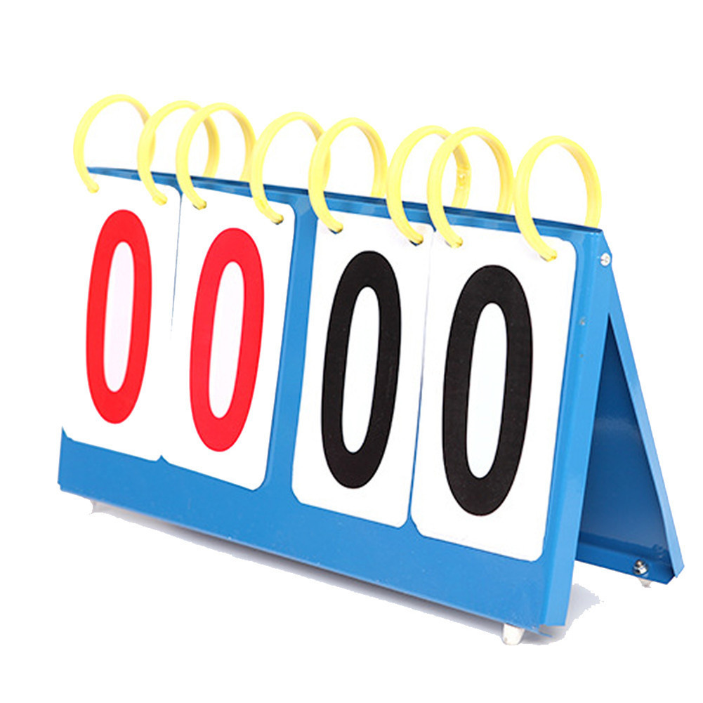 3 4 6 Digit Scoreboard Sports Flip Score Board Basketball Football Volleyball Badminton Scorer Table Tennis Scoreboard