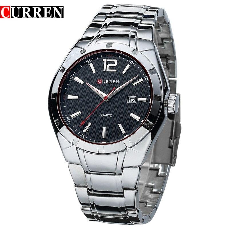 61d875073c6b Curren 8103 hombres de negocios reloj de lujo marca analog display fecha  hombres reloj de cuarzo casual reloj hombres reloj Relogio Masculino