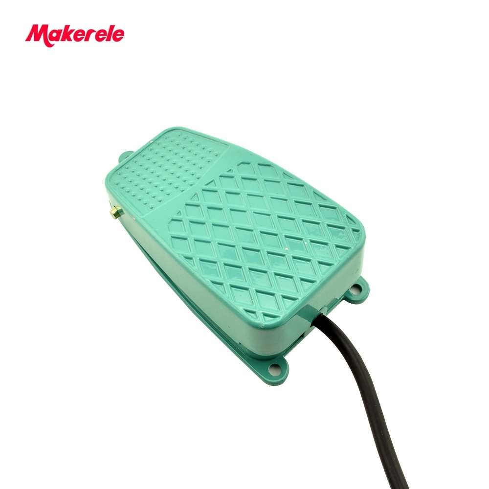 Foot Pedal Switch Footswitch MKTFS-2 CE standard Top Quality metal treadle switch easy control Wired Momentary Contact hot sale lt4 202h factory price cheap ce newest latest metal double pedal foot switch for bending machine punch