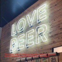 Neon Sign for CRAFT BEER Neon Light Sign Room Display Pirate signs Neon Tube Sign handcraft Publicidad Custom with no Back