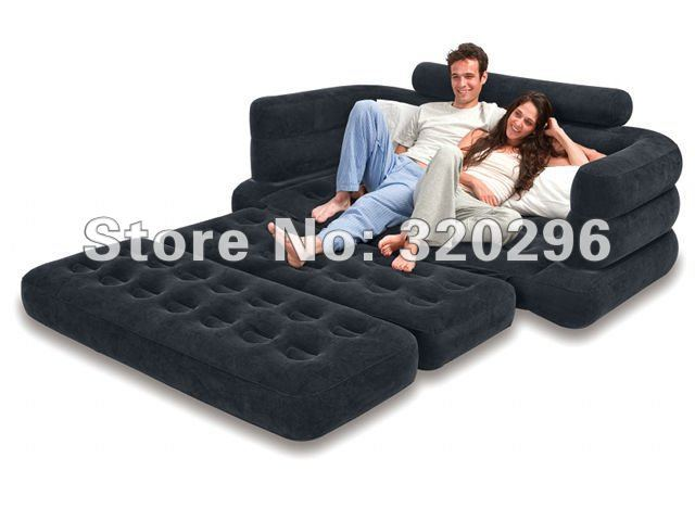High Quality Intex Pull-Out Sofa Air Bed/ Intex-68566