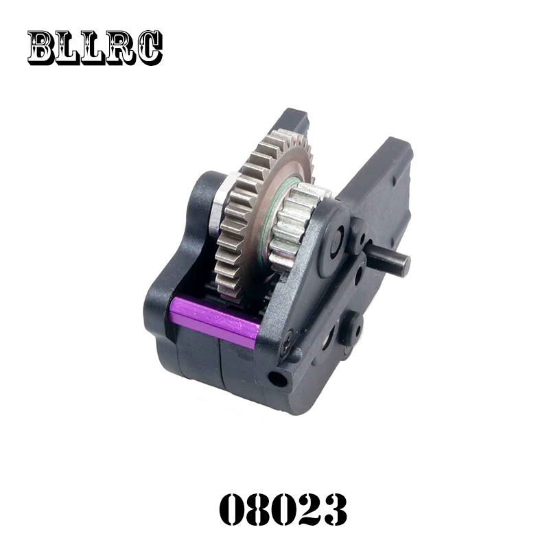 Free shipping RC car HSP 1/10 1:10 Spare parts 08023 speed reducer with metal gear for 94108 94188 free shipping hsp 1 10 speed reduction gear set differential gear box 02126 spare parts fit for 94101 1 10 rc car