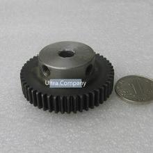 Spur Gear pinion 50T 50Teeth Mod 1 M=1 Width 10mm Bore 8mm Right Teeth 45# steel major gear CNC gear rack transmission RC car