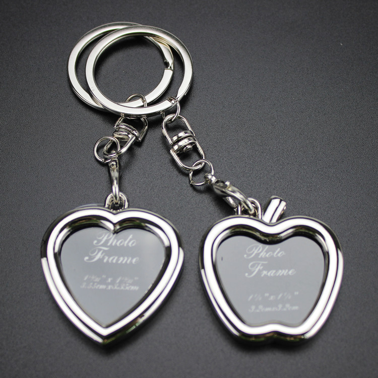 Photo Frame Lovers key Chain - Fashion Creative love keychain good quality key ring for men and women gift Jewelry #17017 цены онлайн