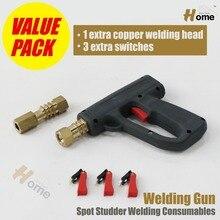 Корректировщик Сварочный Пистолет С 1 Дополнительными Меди Сварочной Головки и 3 Дополнительных WG-001N