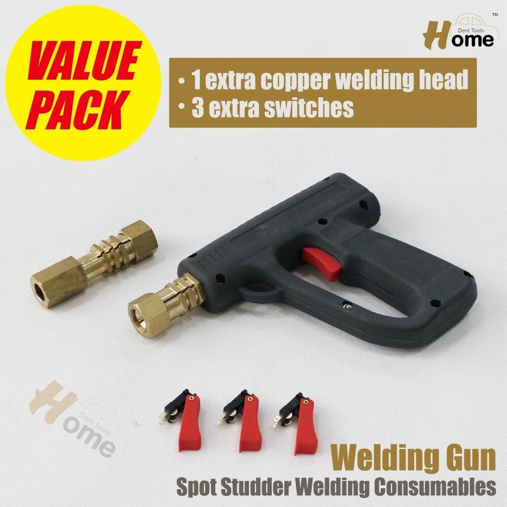 stud gun welder dent repair kit auto body dent ding damage repair spot welding pulling system car mechanics hand tools machine