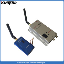 82g Lightweight FPV Video Link 20KM LOS 2.4Ghz Wireless Video Transmitter Long Range Transmitter and Receiver 1000mW RF Power