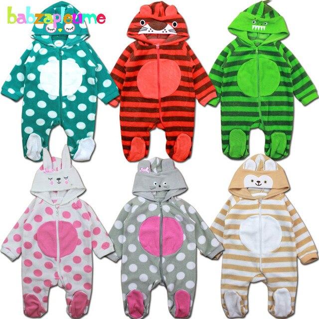 8f6963c87 0 18Months Autumn Winter Infant Girls Boys Rompers Newborn Clothing ...