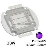 20 W High Power LED UV Ultra Paars Licht Chip 365nm-370NM, 380nm-385nm, 395nm-400nm, 420nm-425nm LED Licht bron EPILEDs