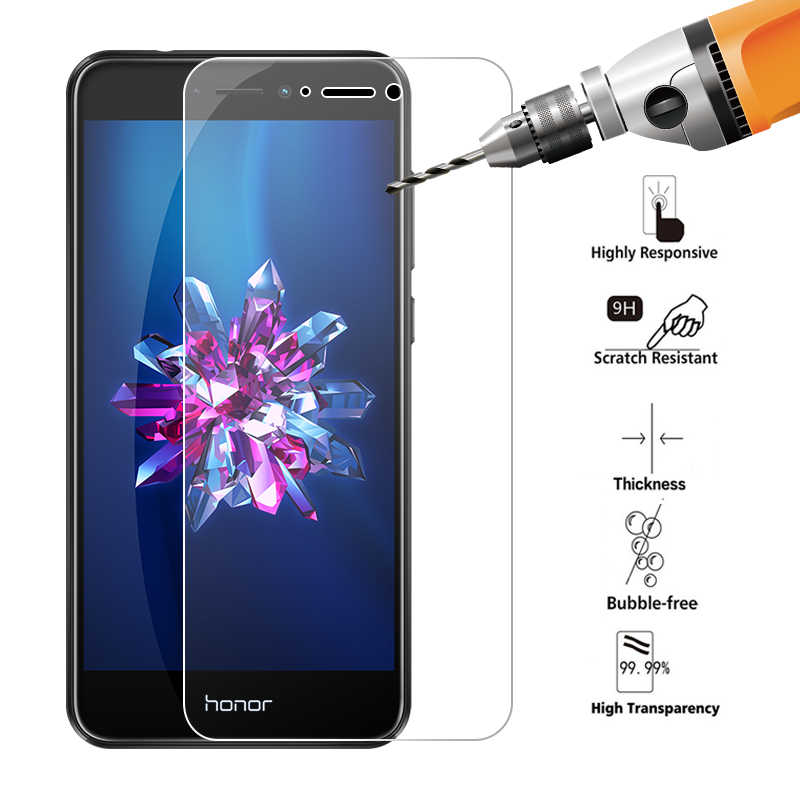 Ultra Thin Clear Tempered Glass for Huawei Honor 7A 6C 7C Pro 9 8 10 Lite Screen Protector Cover Film for Huawei Y6 Y5 Y7 2018