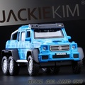 1pc 1:32 17.5cm delicate Mercedes G63 AMG6X6 cross country vehicle simulation model alloy car home decoration toy baby Gift