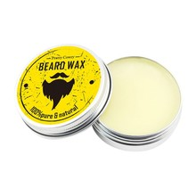Men Beard Oil Balm Moustache Wax for styling Beeswax Moisturizing Smoothing Gent