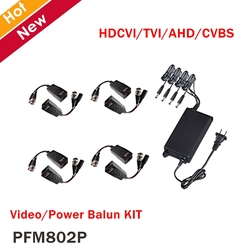 Dahua Video Power Balun KIT PFM802P HDCVI Zubehör Kompatibel format HDCVI/TVI/AHD/CVBS